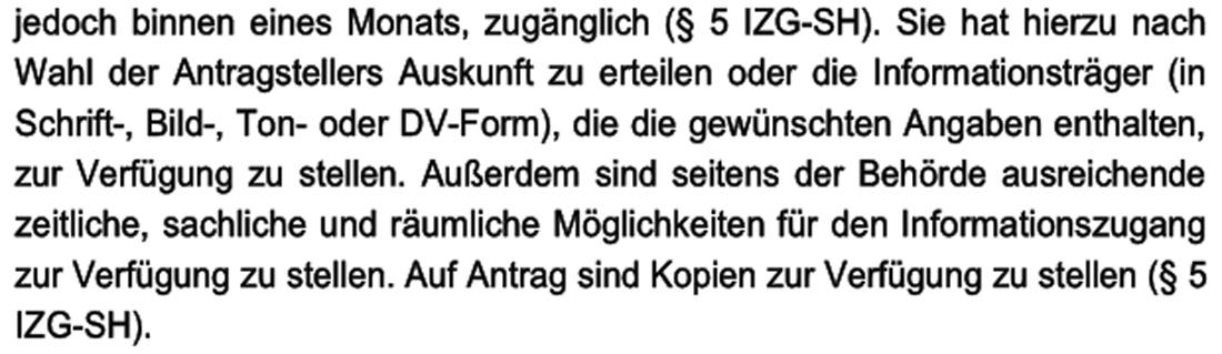 Informationszugangsgesetz